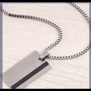 Other - Dog-Tag Stainless Steal Necklace